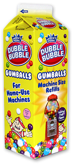 Dubble Bubble Gumball Milk Carton Refills