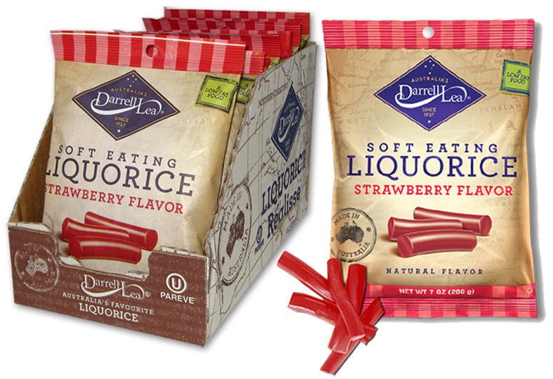 Darrell Lea Soft Eating Liquorice (Licorice) - Strawberry