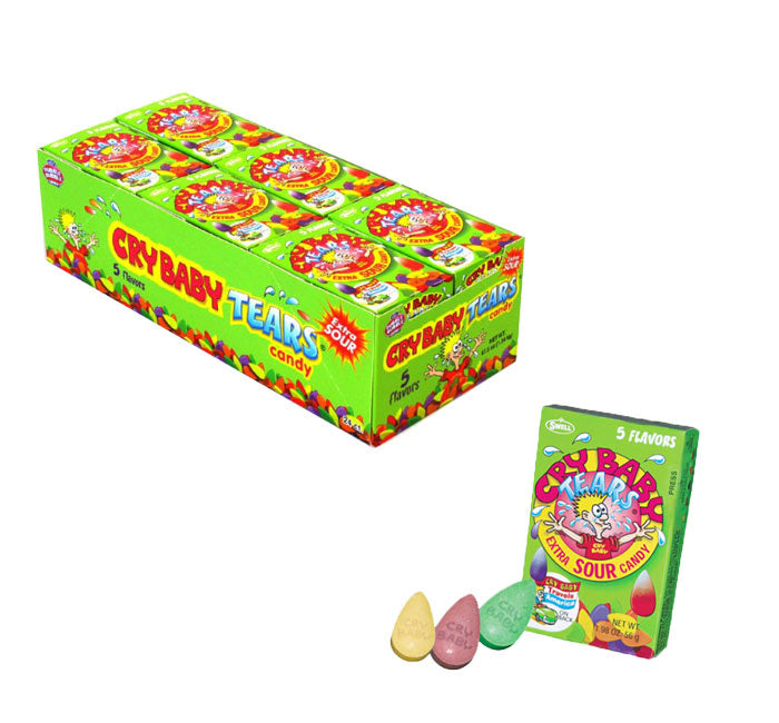 Cry Baby Tears Extra Sour Candy