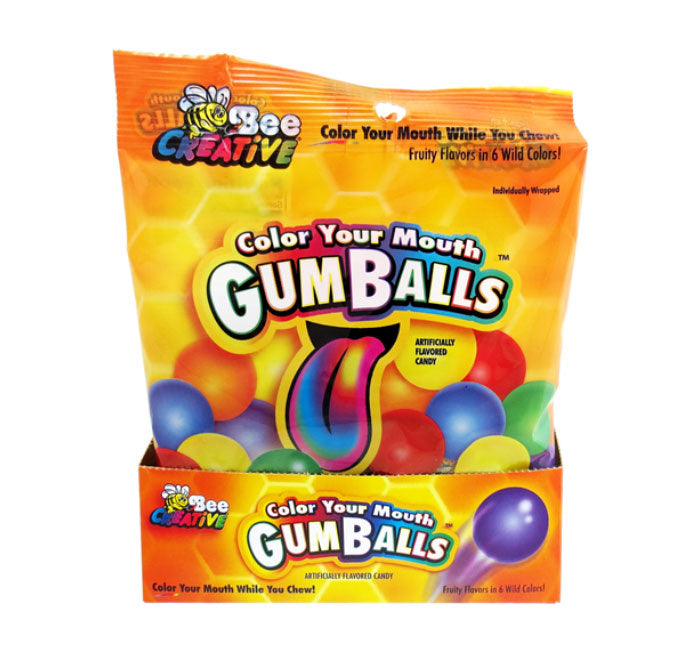 Bee Creative Color Your Mouth Gumballs