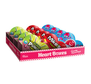 Heart Boxes (Mike & Ike, Sour Punch Twists, Airheads)