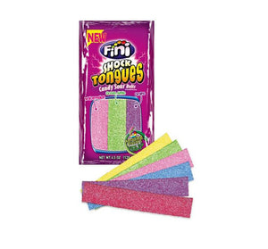 Fini Shock Tongues Candy Sour Belts