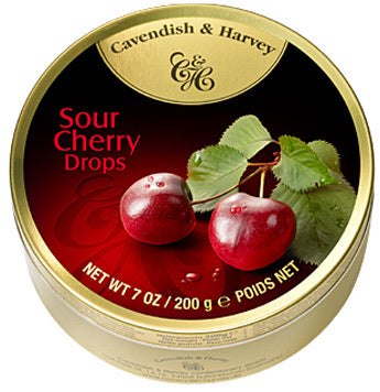Cavendish & Harvey Travel Tin - Sour Cherry