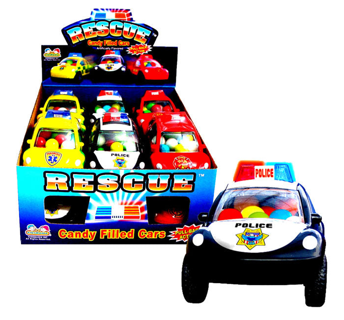 Kidsmania Rescue Vehicles With Candy