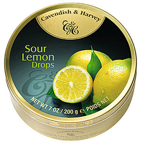 Cavendish & Harvey Travel Tin - Lemon