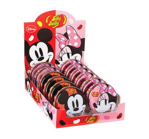 Jelly Belly Minnie & Mickie Mouse Tin