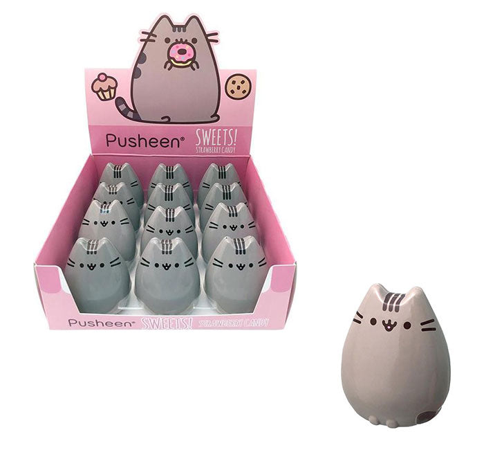 Pusheen Cat Strawberry Candy Tin