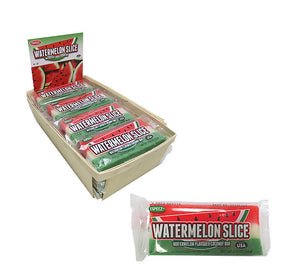 Watermelon Slice Coconut Bar