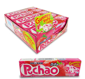 Puchao Chewy Gummy Candy - Strawberry