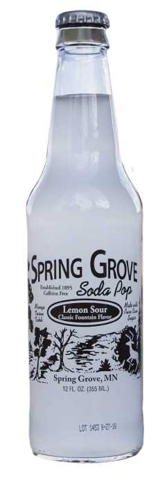 Spring Grove Soda Lemon Sour