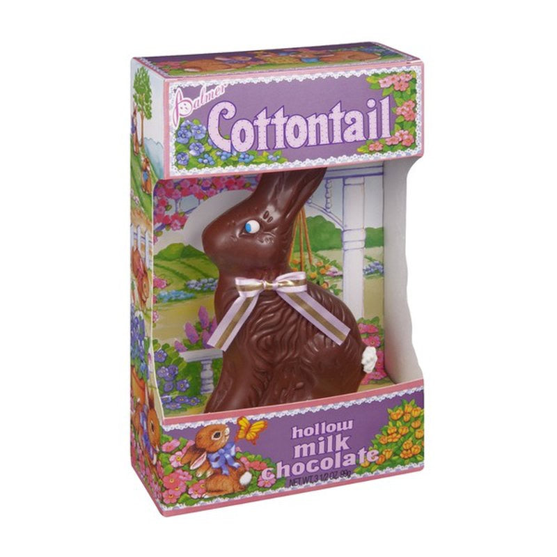 Palmer Cottontail Hollow Milk Chocolate