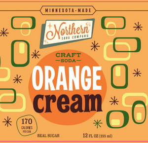 Northern Soda Company Orange Cream