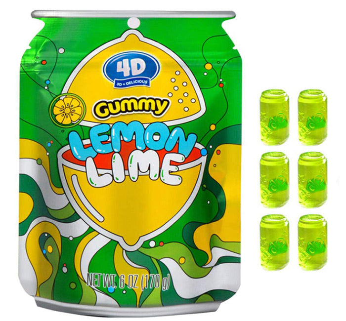 4D Gummy Pouch - Lemon Lime