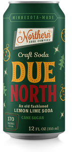 Northern Soda Company Due North (Lemon Lime Soda)