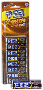 PEZ Blister Pack Refills Chocolate 8 Pack