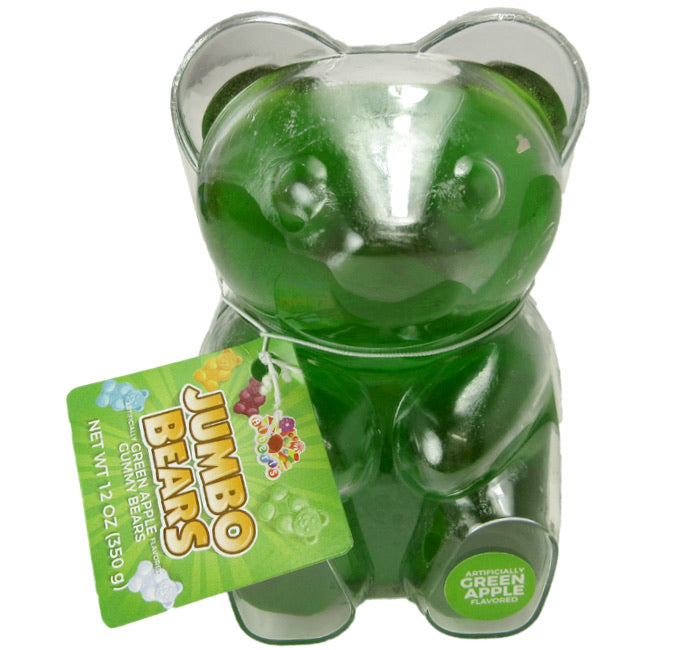 Jumbo Gummy Bear - Green Apple