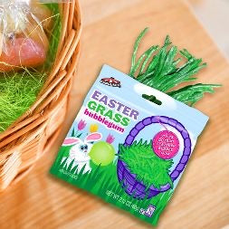 Easter Grass Bubble Gum Pouch