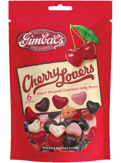 Gimbals Fine Candies - Cherry Lovers Jelly Beans