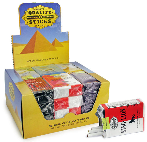Quality Sticks Chocolate Cigarettes