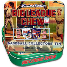 Big League Chew Collector's Tin (Grape & Original)