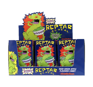 Reptar Cereal Sour Apple Candy Tin
