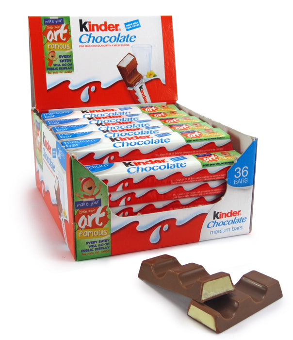 Kinder Medium Chocolate Bar - Milk