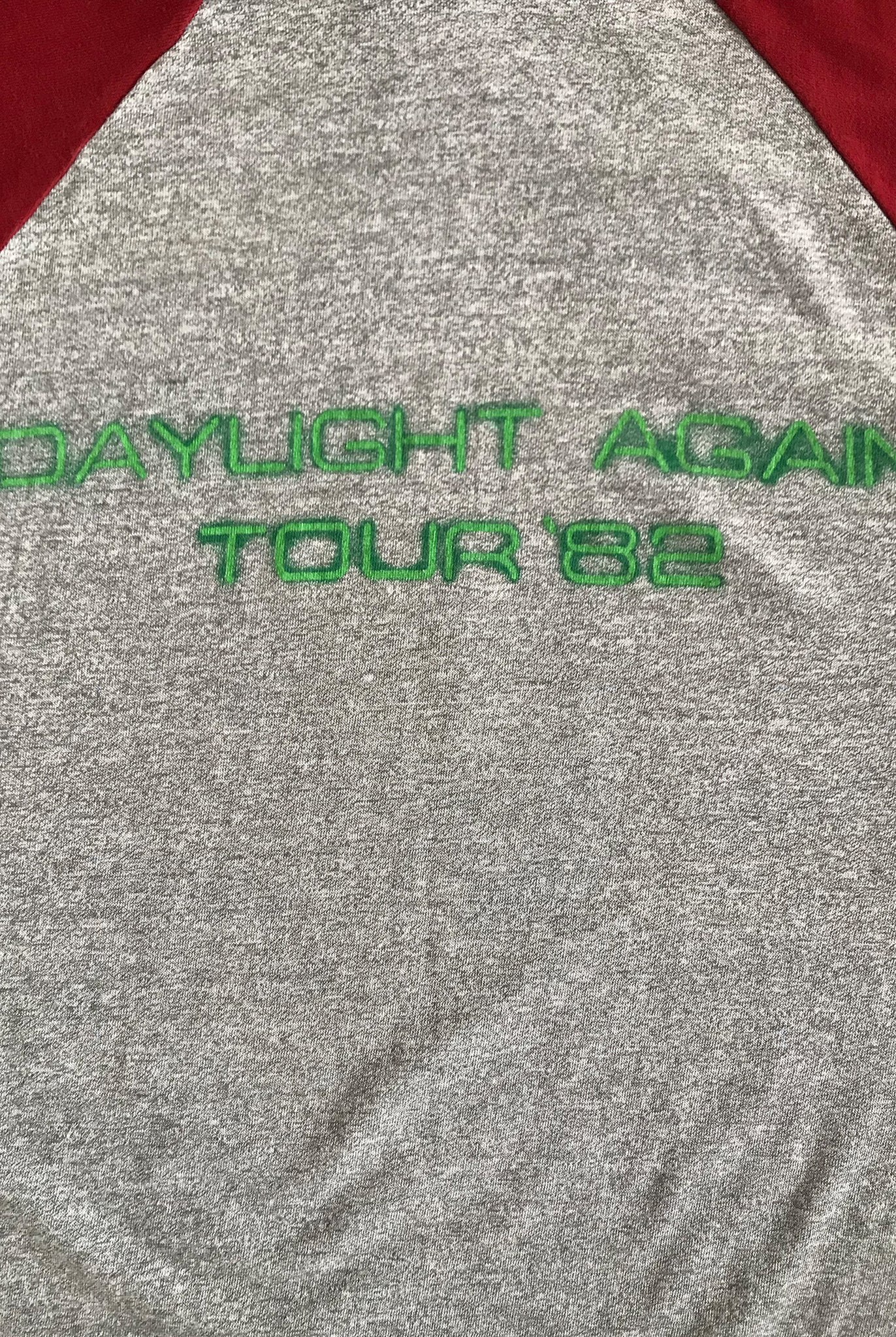 Vintage 1982 crosby stills and nash daylight again tour promotional tshirt