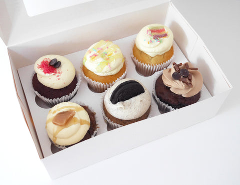 Favourites 6 Assorted Cupcakes