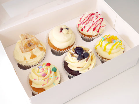 'Fruitilicious' Selection of 12 Cupcakes