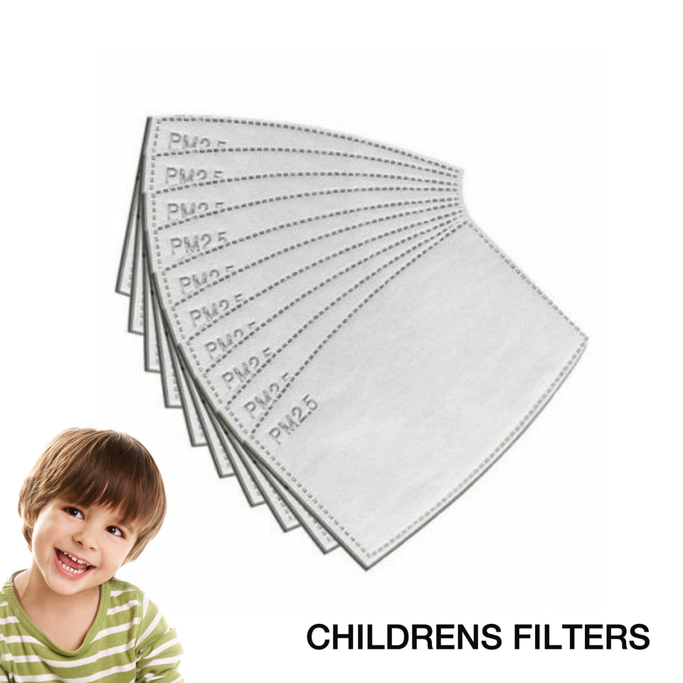 Children's PM 2.5 Filters