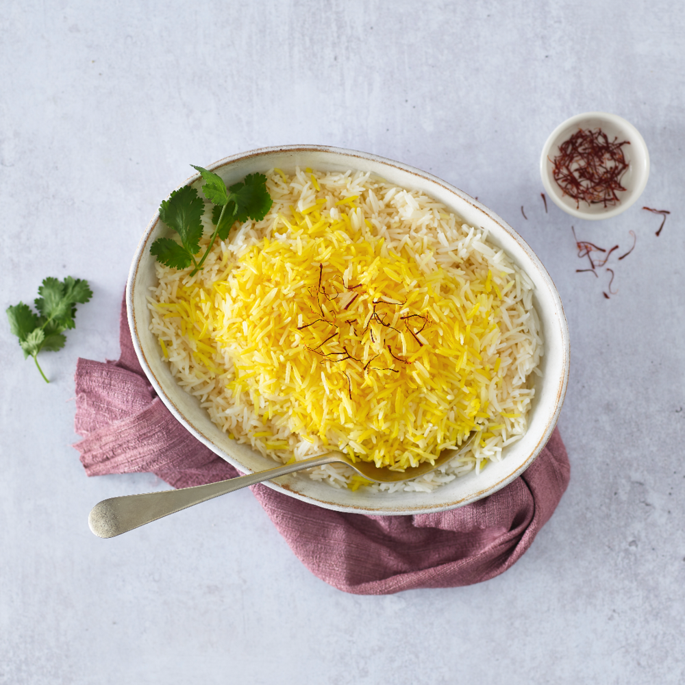 Saffron Rice (Polow ba Zafferan)
