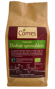 Comcafé BIO FAIRTRADE gemahlen 500g Beutel
