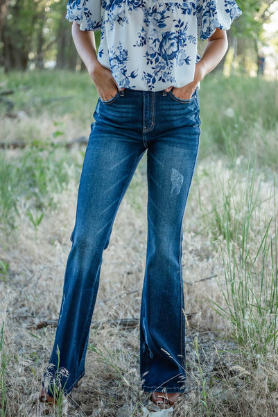 Give It All Flare Jeans
