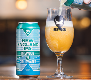 Brewdog (UK) VS Cloudwater: New England IPA 6.8 % - 0.44 l.