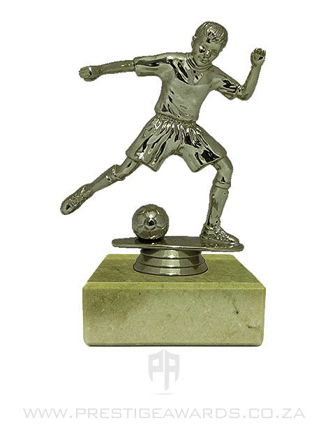 Soccer Junior Boy Miniature Trophy