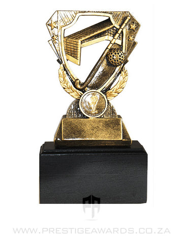 Hockey Goal Resin Trophy