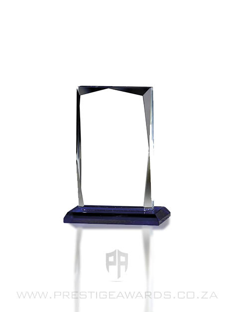 Crystal Mini Facet Rectangle Trophy T0581