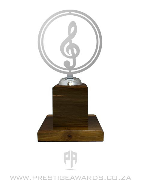 Music Ring Floating Trophy