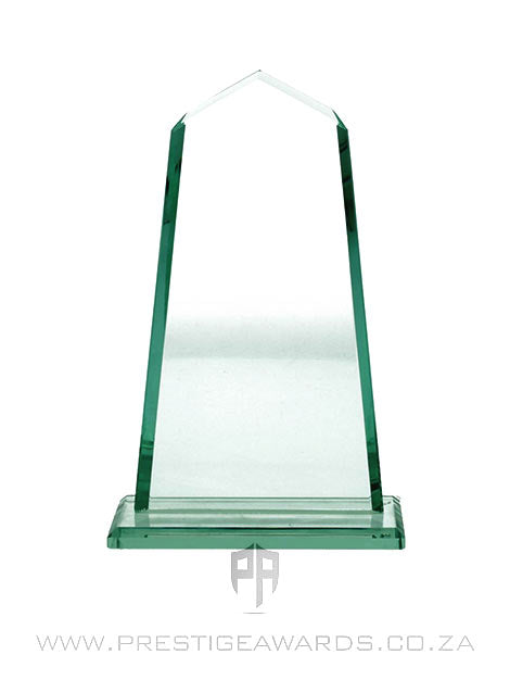 Jade Glass Monument Trophy