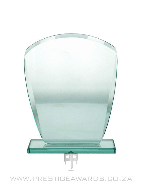 Jade Glass Curve Trophy