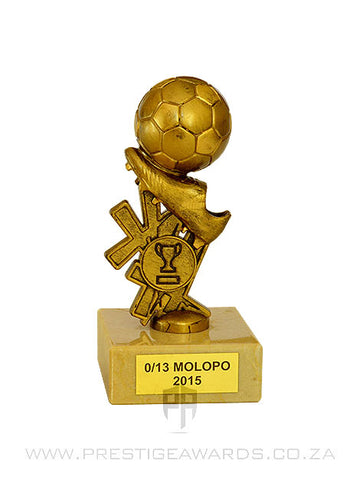 Soccer Boot and Ball Holder Trophy