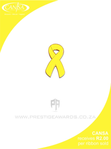 Suicide Prevention & Spina Bifida(Yellow)Awareness ribbon