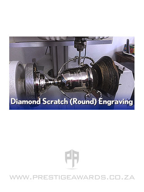 Engraving (round) - Diamond Scratch