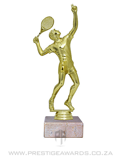 Tennis Male Figurine trophy