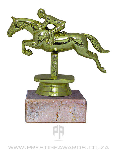 Horse - Showjumper Miniature Trophy