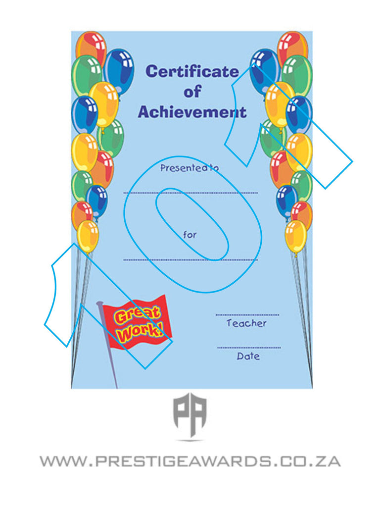 Certificate 101 (Kiddies)