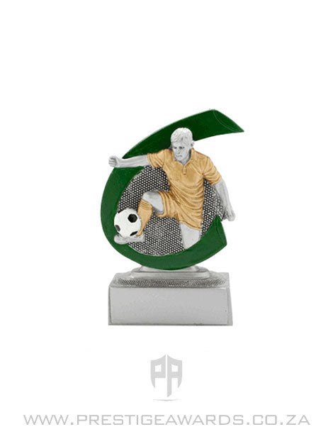 Soccer Resin Male Mini Trophy
