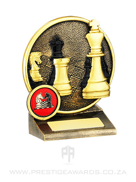Chess board and Piece Resin Award