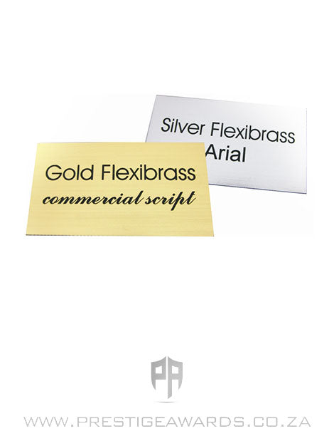 Flexibrass Engraving Plates