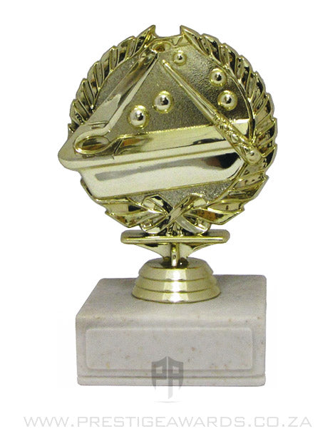 Pool Wreath Miniature Trophy